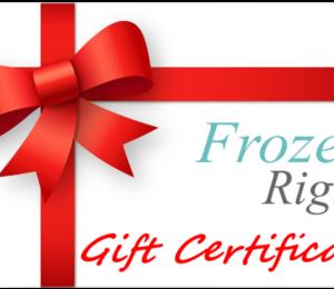 FR – Gift Certificate