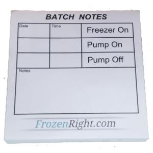 Batch Notes